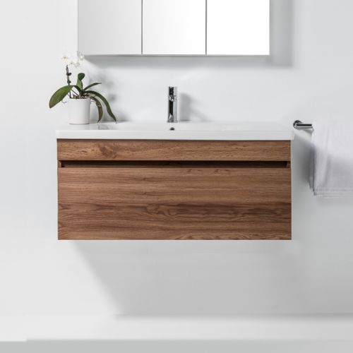 Soft 1000 Wall-Hung Vanity 1 Drawer by VCBC