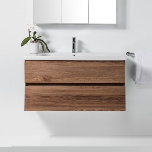 Soft 1000 Wall-Hung Vanity 2 Drawers by VCBC
