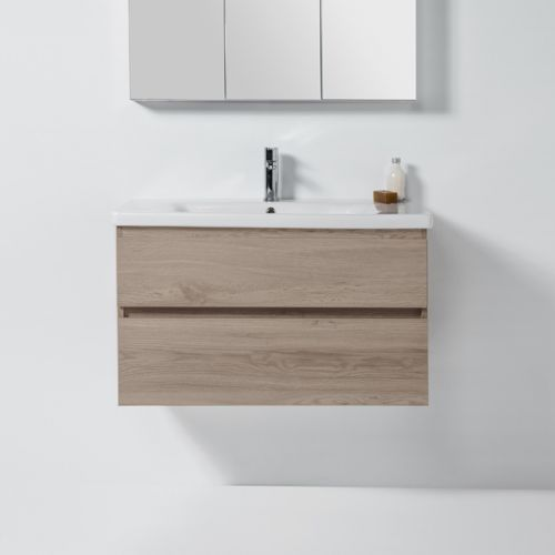 Soft 900 Wall-Hung  Vanity 2 Drawers by VCBC