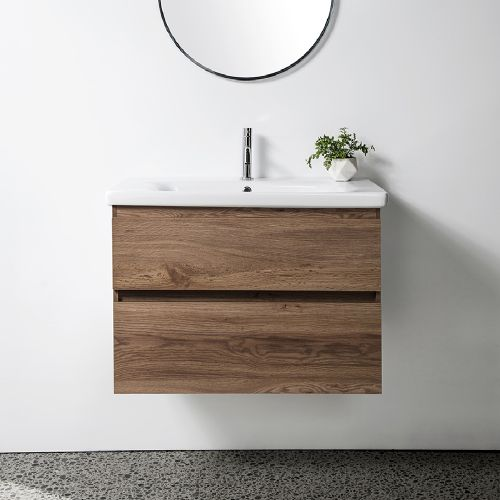 Soft 800 Wall-Hung  Vanity 2 Drawers by VCBC