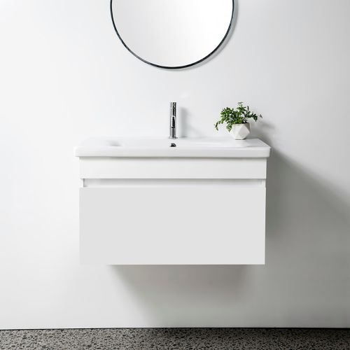 Soft 800 Wall-Hung Vanity 1 Drawer by VCBC