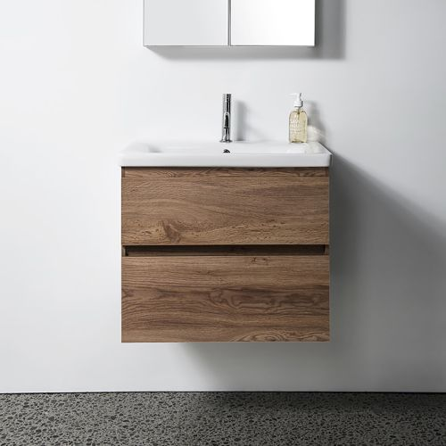 Soft 650 Wall-Hung Vanity 2 Drawers by VCBC