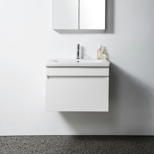 Soft 650 Wall-Hung Vanity 1 Drawer by VCBC
