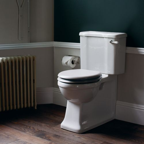 Arcade Close Coupled Toilet Suite by Burlington