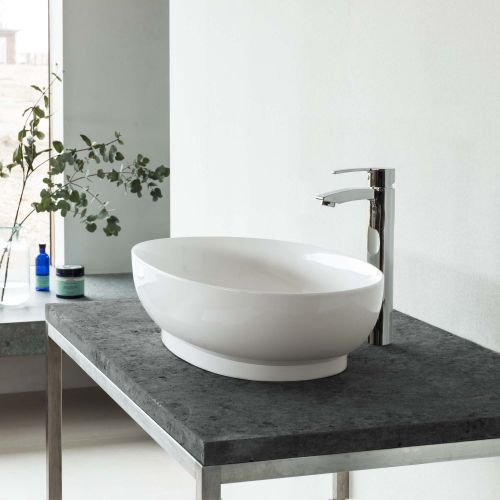 Puro Clearstone Counter Top Basin by VCBC