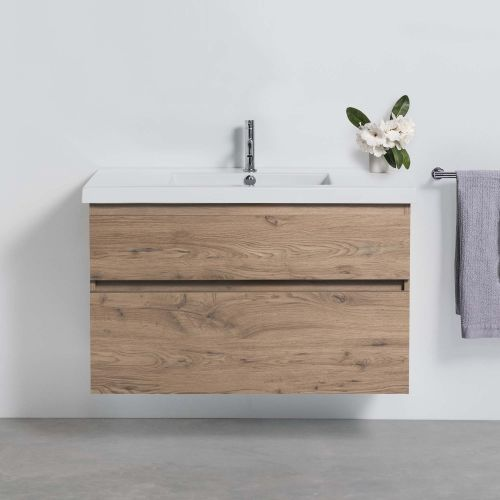 Cangas 1000 Wall-Hung Vanity 2 Drawers by VCBC