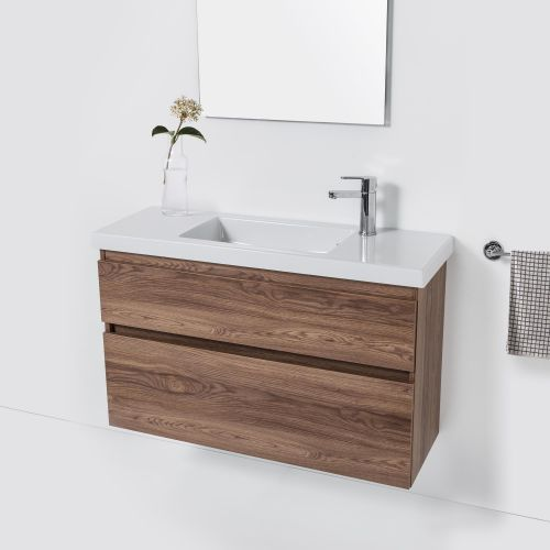 Cangas Slim 1000 Wall-Hung Vanity 2 Drawers by VCBC