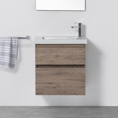 Cangas Slim 600 Wall-Hung Vanity 2 Drawers by VCBC