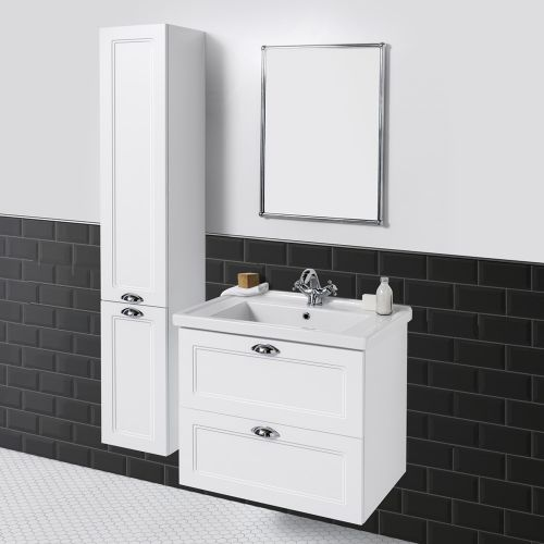 English Classic 700 Wall-Hung Vanity 2 Drawers by VCBC