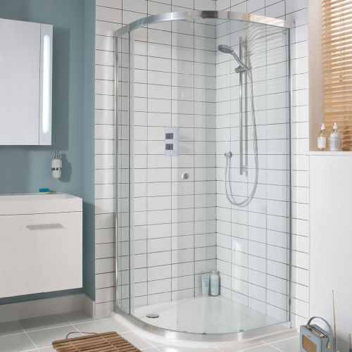 Lucca Quadrant Sliding Showers by VCBC