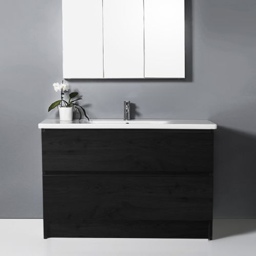 Soft 1000 Floor-Standing Vanity 2 Drawers by VCBC