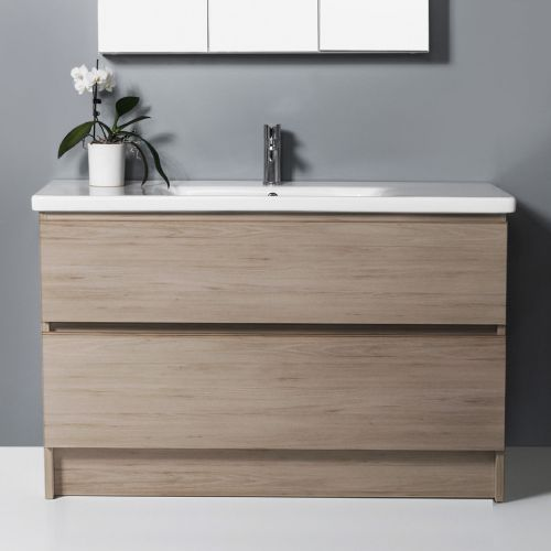 Soft 1200 Floor-Standing Vanity 2 Drawers by VCBC
