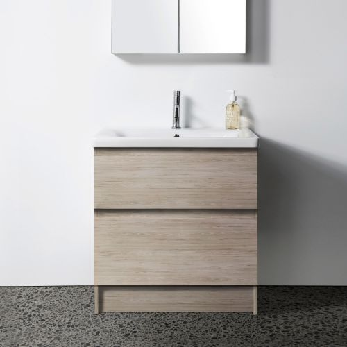 Soft 650 Floor-Standing Vanity 2 Drawers by VCBC