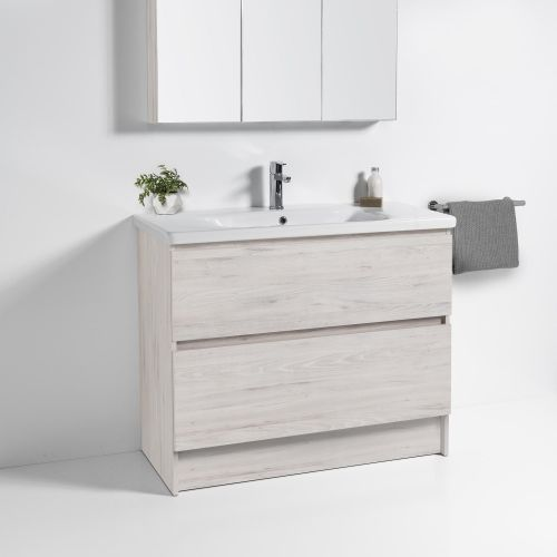 Soft 900 Floor-Standing Vanity 2 Drawers by VCBC