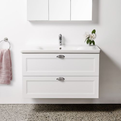 Soft Classic 1000 Wall-Hung Vanity by VCBC