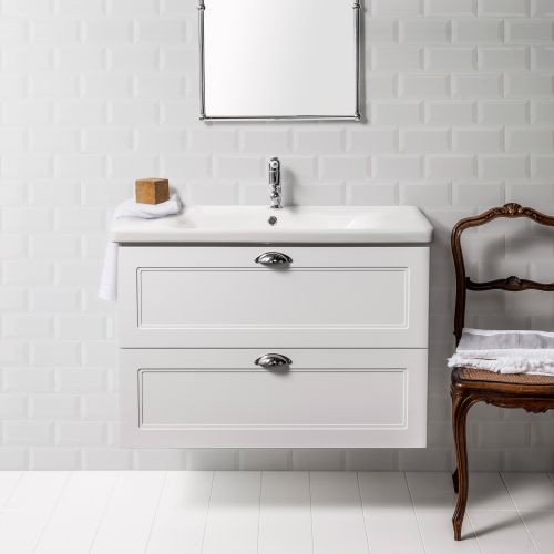 Soft Classic 900 Wall-Hung Vanity by VCBC