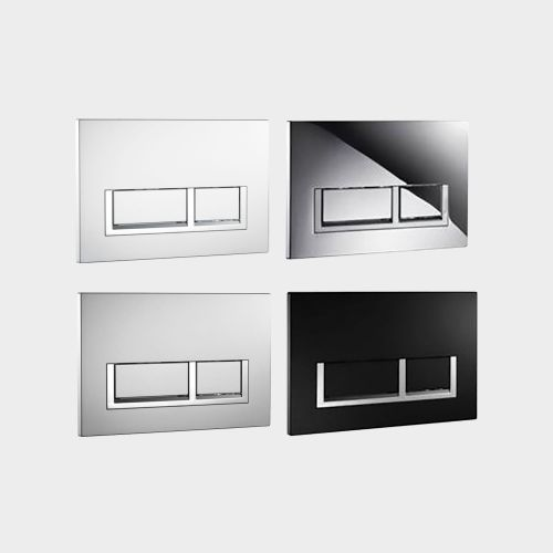 Rectangle Flush Plates by VCBC