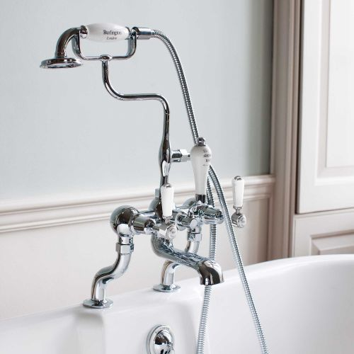 Kensington Deck Mounted Bath/Shower Mixer by Burlington