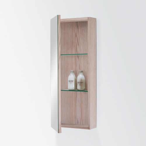 Mirror Unit 300 – 1 Door, 2 Shelves by Michel Cesar