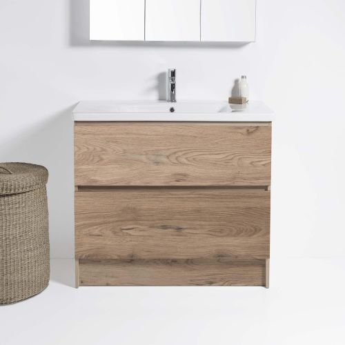 Soft 800 Floor-Standing Vanity 2 Drawers by VCBC