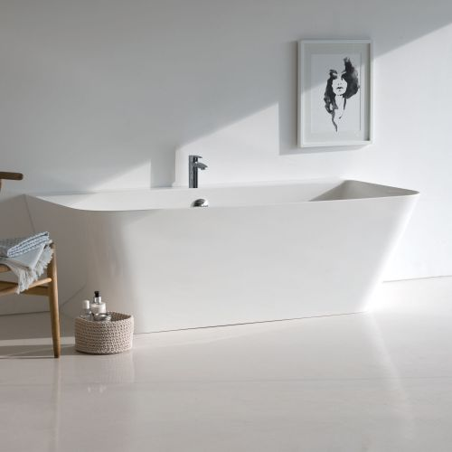 Patinato Clearstone Back-to-Wall Bath by VCBC