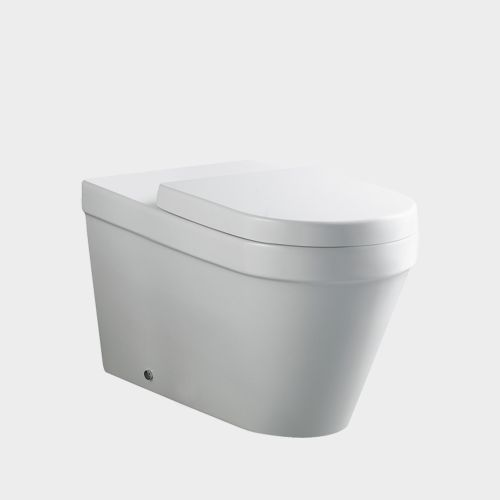 Onda Accessible Extended Wall-Faced Toilet Suite by VCBC