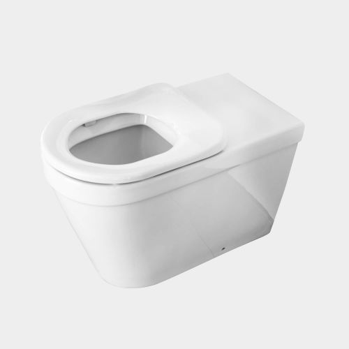 Onda Accessible Extended Wall-Faced Toilet Suite with Single Seat by VCBC