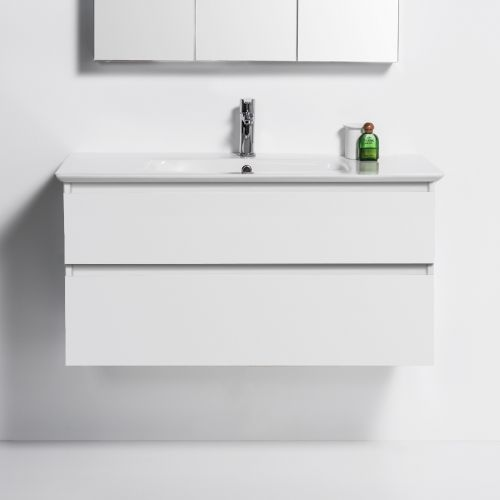 Sharp 1040 Wall-Hung Vanity 2 Drawers by VCBC