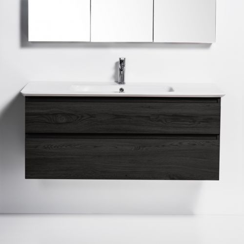 Sharp 1200 Wall-Hung Vanity 2 Drawers by VCBC