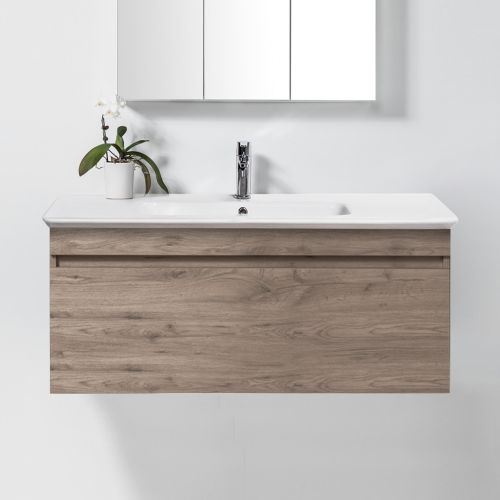 Sharp 1200 Wall-Hung Vanity 1 Drawer by VCBC