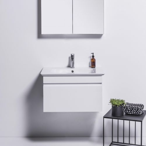 Sharp 700 Wall-Hung Vanity 1 Drawer by VCBC