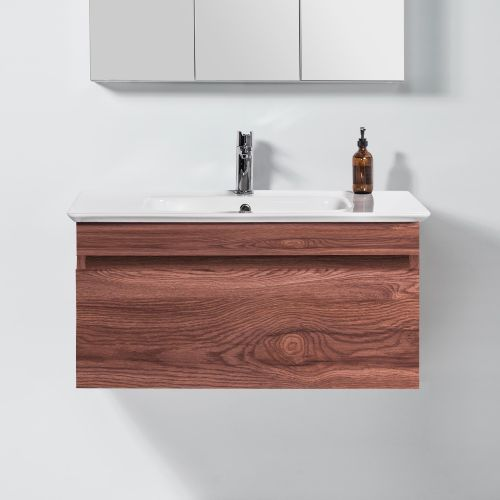 Sharp 900 Wall-Hung Vanity 1 Drawer by VCBC