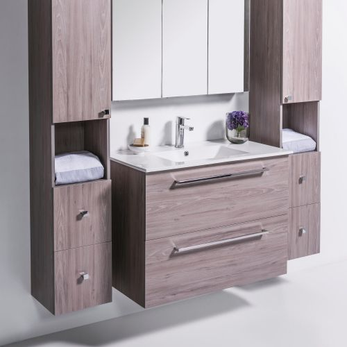 Zara 1000 Wall-Hung Vanity 2 Drawers Extra Deep by VCBC