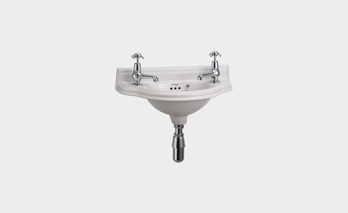 Curved 505 Cloakroom Basin