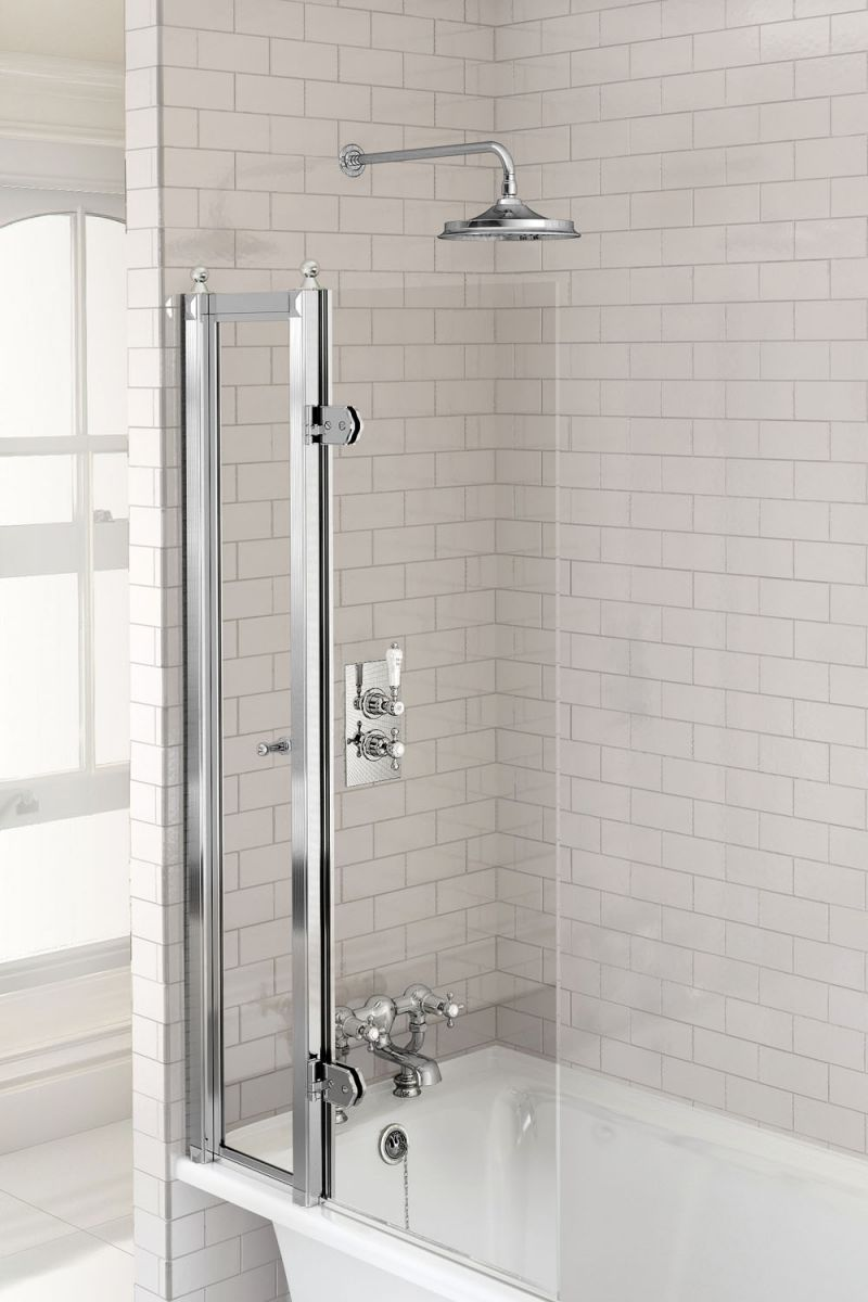 Trent Thermostatic Single Outlet Concealed Shower Valve with Fixed Shower Arm
