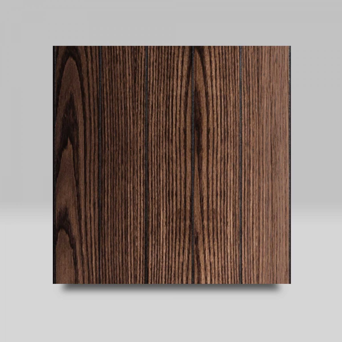Coffee with Vertical Grooves finish