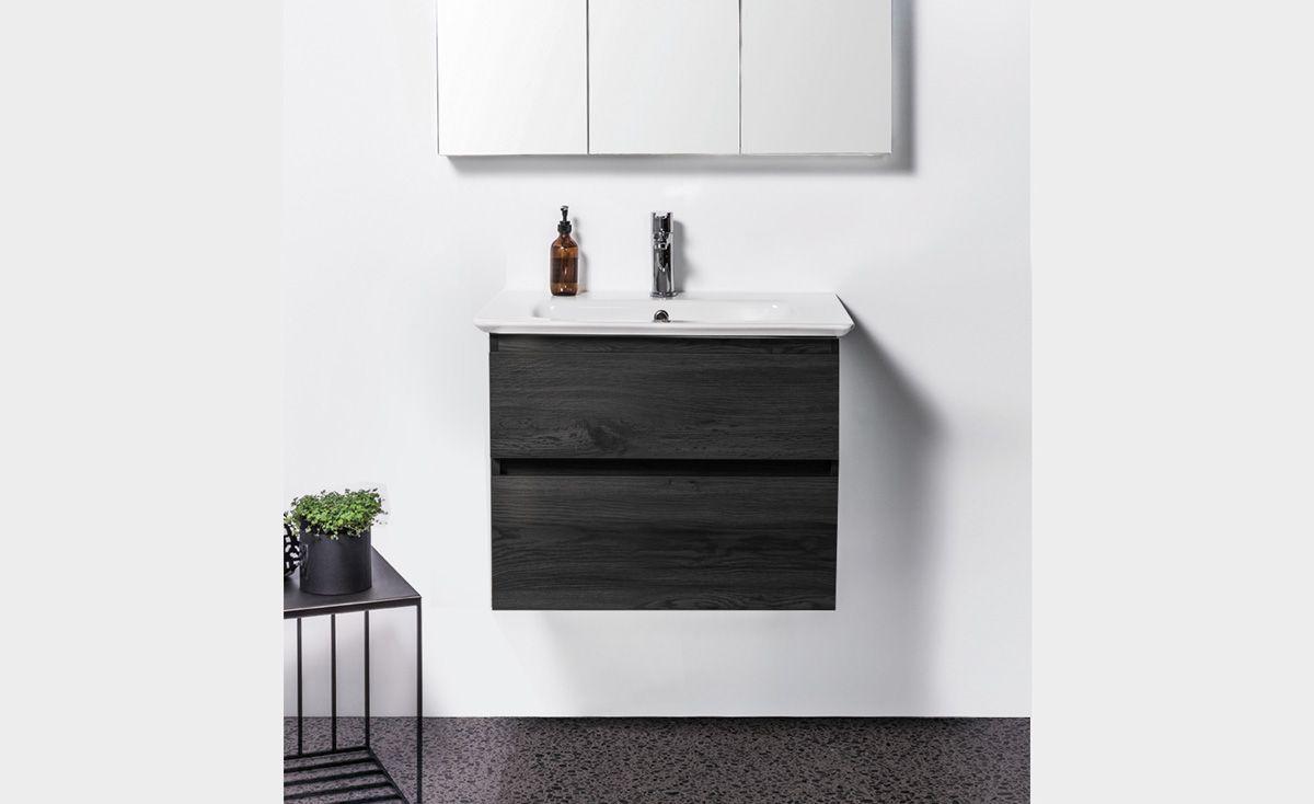 Sharp 700 Wall-Hung Vanity 2 Drawers