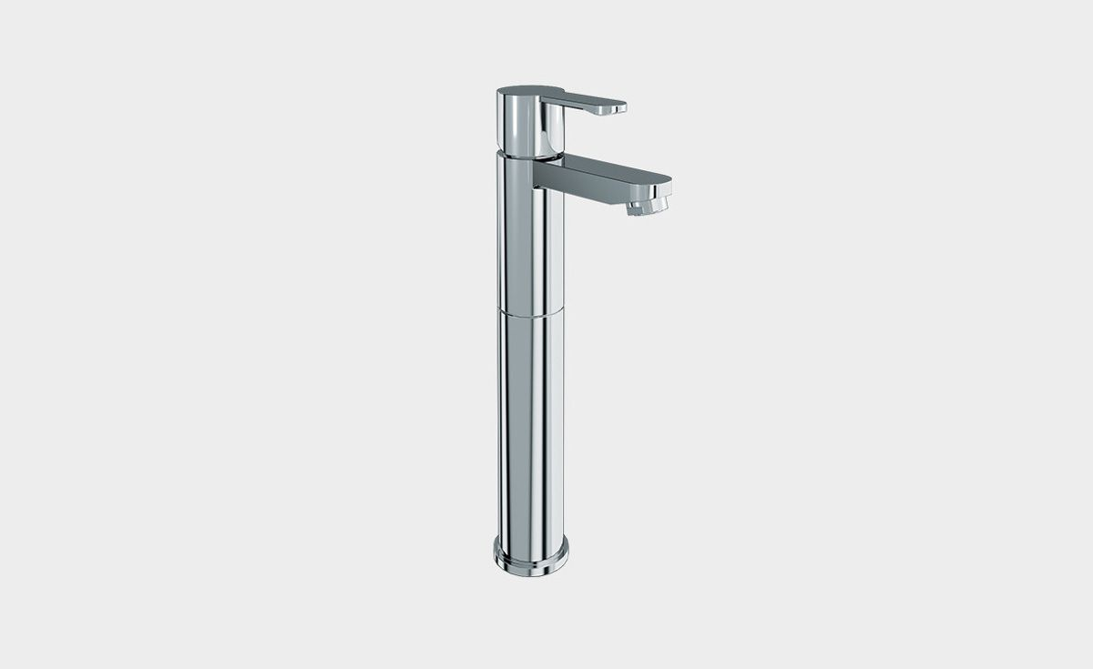 Crystal Extended Single Lever Basin Mixer