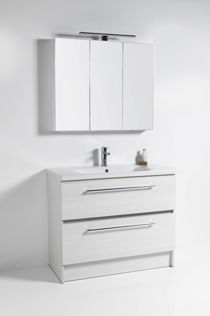Soft Vanity - Semi Handle finish