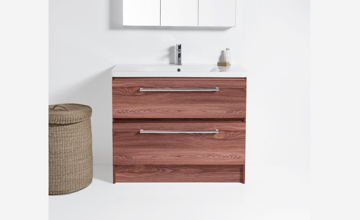Soft 900 Floor-Standing Vanity 2 Drawers