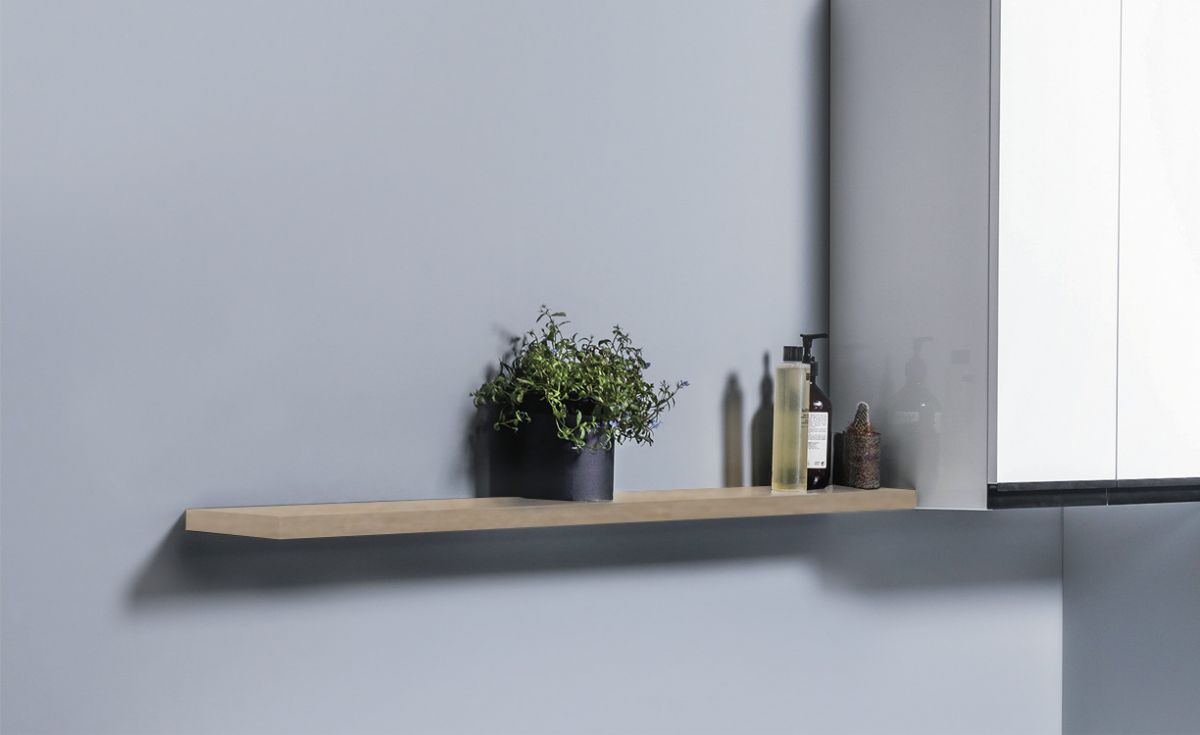 Wall-Hung Floating Shelf