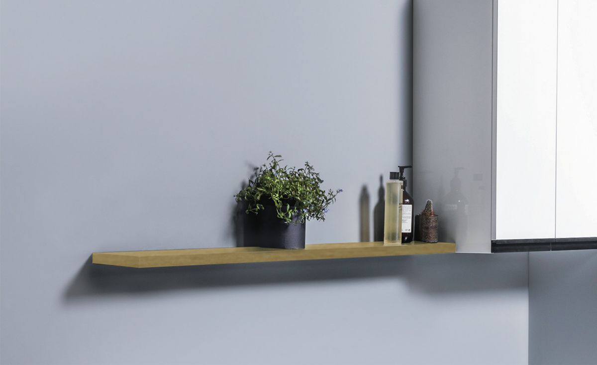 Wall-Hung Floating Shelves