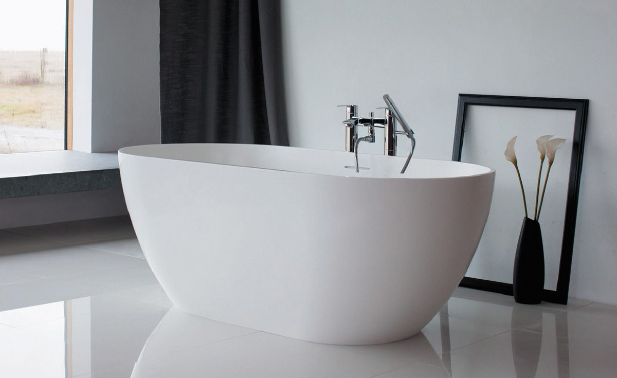 Form Natural Stone Freestanding Bath