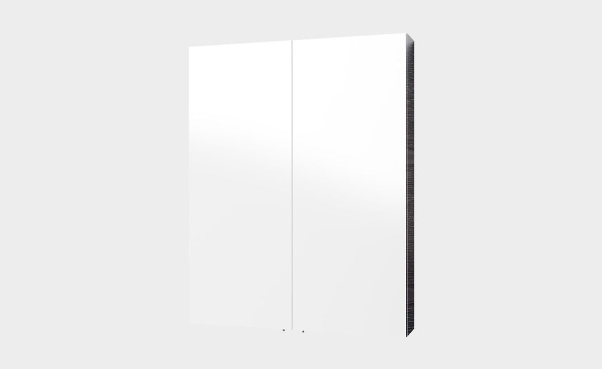 Mirror Unit 600 – 2 Doors, 2 Shelves
