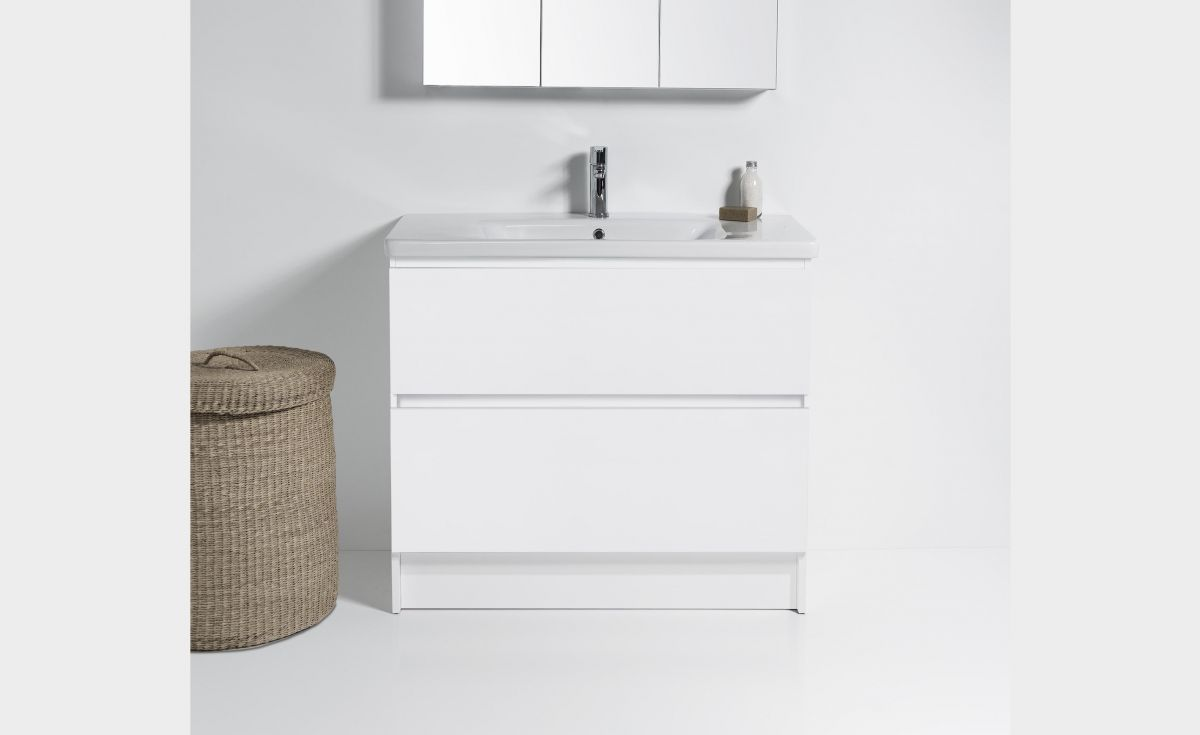 Soft 800 Floor-Standing Vanity 2 Drawers