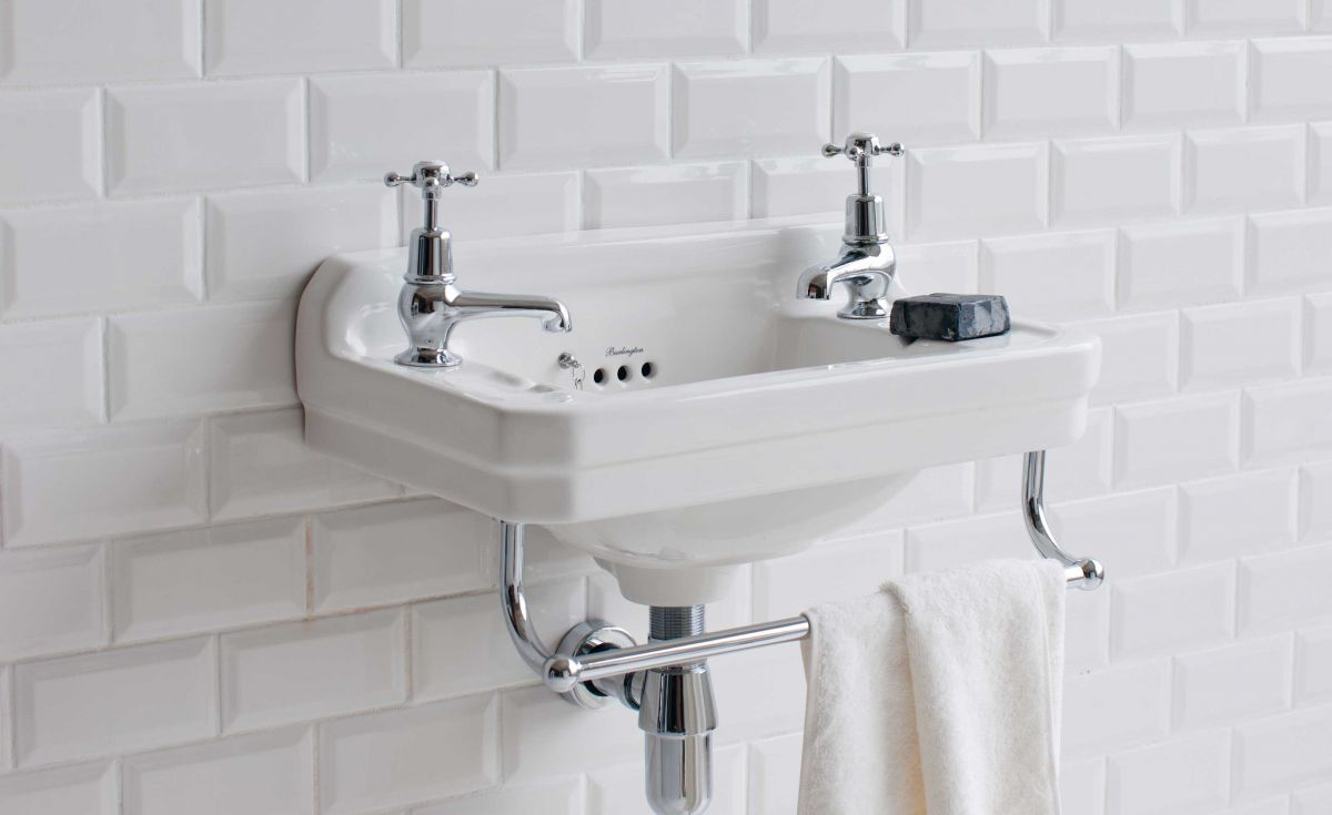 Edwardian Rectangle 510 Cloakroom Basin
