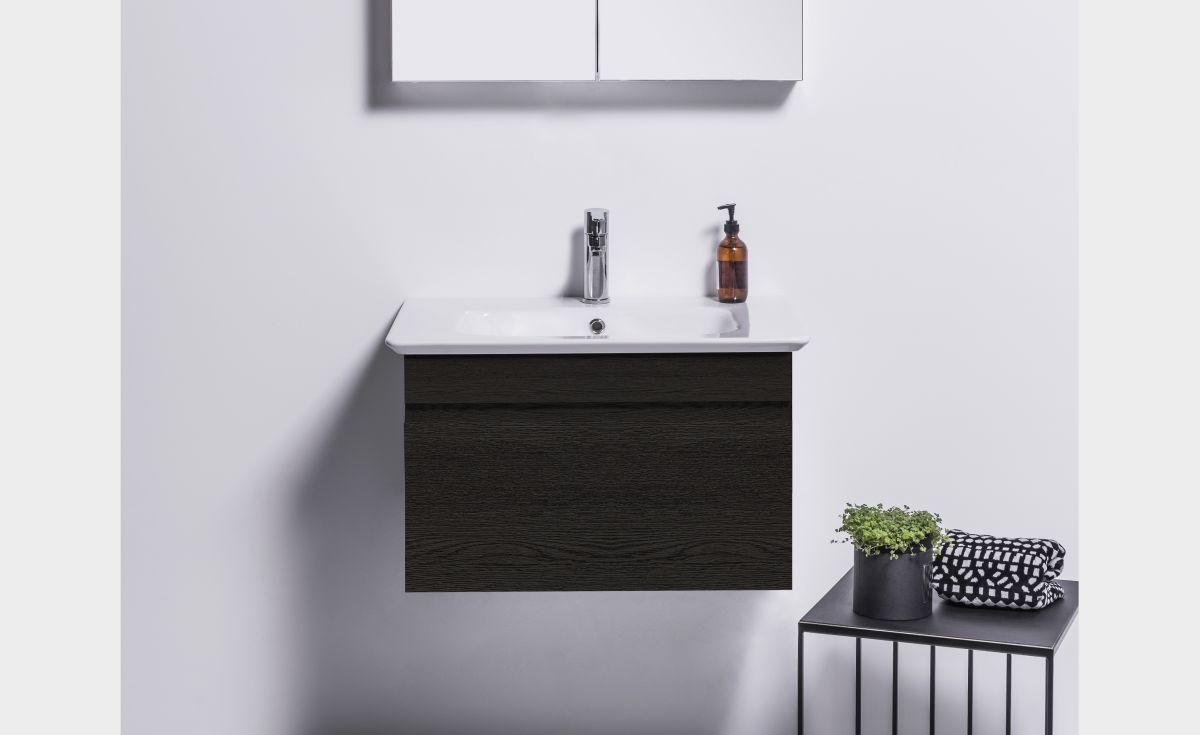 Sharp 700 Wall-Hung Vanity 1 Drawer