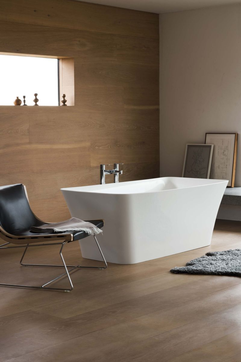 Palermo Clearstone Freestanding Bath