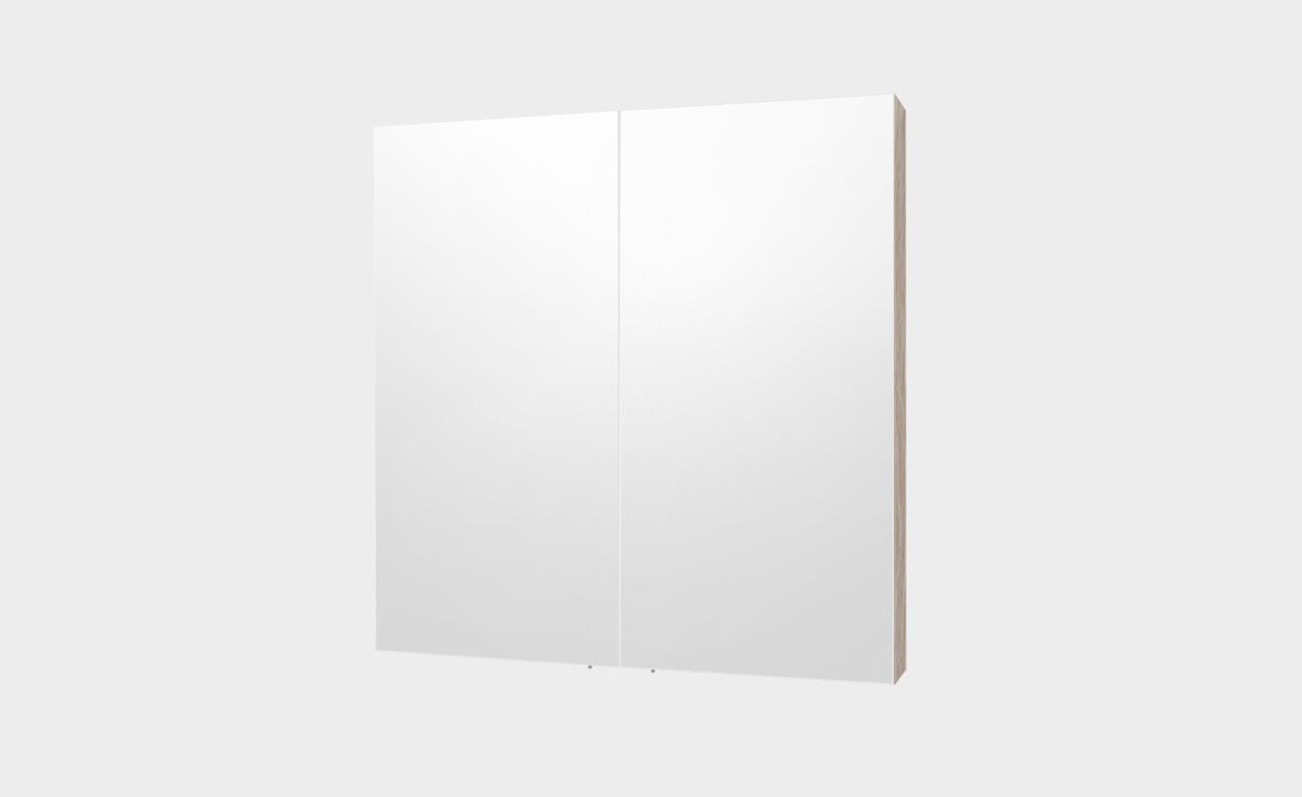 Mirror Unit 750 – 2 Doors, 2 Shelves