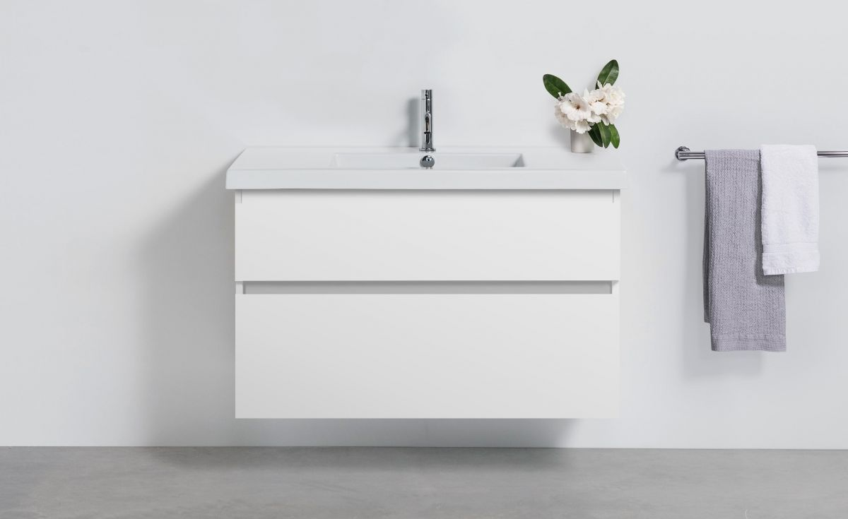 Cangas 1000 Wall-Hung Vanity 2 Drawers